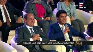 كل يوم - ما قاله عمرو اديب على ياسين الزغبي