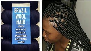 My Faux locs  tutorial & Hair Review