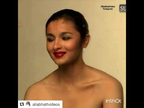 Alia bhatt naked look