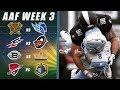 Alliance of American Football Week 3 Predictions