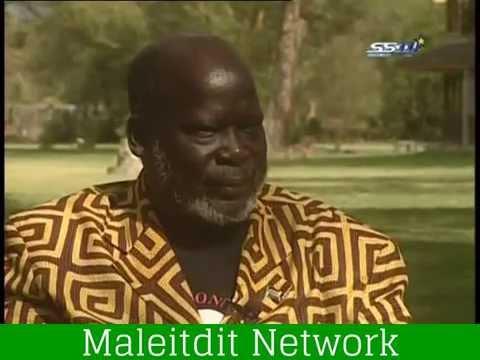 Dr. John Garang s interview.