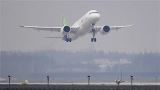 China's First Big Passenger Jet Takes Off