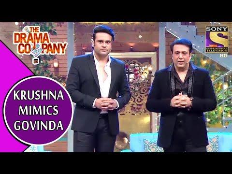 Xxx Mp4 Krushna Mimics Govinda Effortlessly The Drama Company 3gp Sex