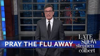A Trump Advisor Says Only God Prevents The Flu