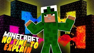 NO TIME TO EXPLAIN!! THE GIANT PENGUIN KING! Minecraft w/ Little Kelly