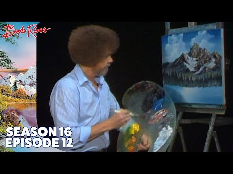 Bob Ross Mighty Mountain Lake Season 16 Episode 12