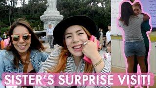 My Sister's Surprise Visit To Korea!