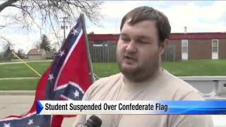 High School Student Suspended for Confederate Flag
