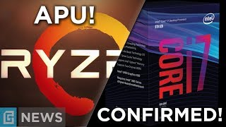 Ryzen & Vega APUs Spotted + Coffee Lake Confirmation!