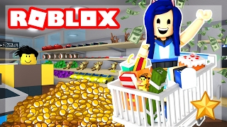 TRYING TO GET RICH IN ROBLOX!   Roblox Retail Tycoon