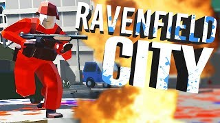 Huge Ravenfield City Battle! -  Ravenfield City Custom Map! - Ravenfield Gameplay