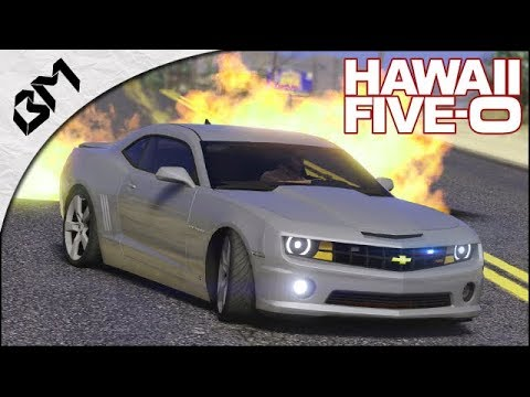 GTA 5 - LSPDFR - HAWAII 5-0 Patrol - VÉHICULE ATTAQUÉ - Patrouille 35