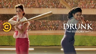 """The Real-Life Story That Inspired """"A League of Their Own"""" - Drunk History"""