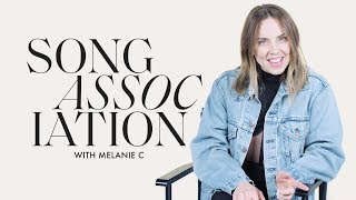 Melanie C (Sporty Spice!) Sings Spice Girls and Stevie Wonder in a Game of Song Association | ELLE