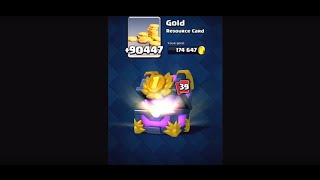 Apertura Baule Primo posto da 15000 Carte | 11 Leggendarie Clash Royale