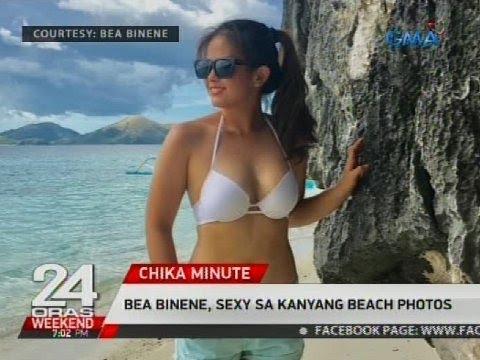 Bea Binene, sexy sa kanyang beach photos