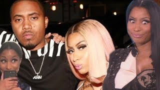 Nicki Minaj MOVING ON WITH NAS & care less about MEEK MILL