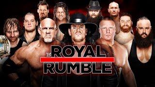 WWE ROYAL RUMBLE 2017 ORAKEL 🏟 ROYAL RUMBLE MATCH • WWE 2K17
