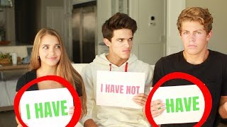 """NEVER HAVE I EVER w/ SISTER AND HER """"BOYFRIEND"""" 