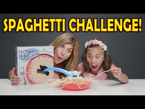 Xxx Mp4 SPAGHETTI CHALLENGE Yeti In My Spaghetti Game Mother Vs Daughter 3gp Sex