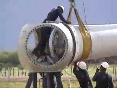 Cargo Crane Aerogeneradores Montaje
