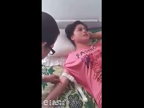 Hot girl injection cry hurtly...pity her