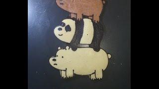 Pancake Art - We Bare Bears