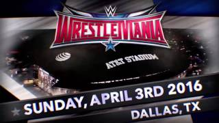 WWE WrestleMania 32 |1st and Official Theme Song| -