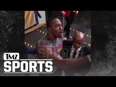 Dwight Howard Challenges Lakers Fan to Fight TMZ Sports