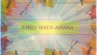 ZAHID NAWAZ WITH AFSANA