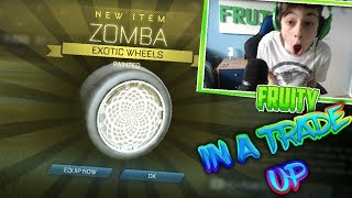 WHITE ZOMBAS IN A TRADE UP AND MORE!!   I GOT WHITE ZOMBAS! (WATCH UNTIL END)   BEST LUCK!