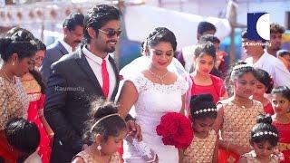 Kerala Wedding,Actress Sruthi Lekshmi With Ewin Anto - Part 01 | Swayamvaram 26-03-2016 | Kaumudy TV