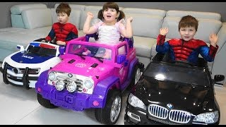 Balls Cars Baby Fun Learn Colors with Toys Cars and colorful balls