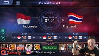 CASTER ARENA KONTES INDO VS THAILAND YOK! GIVEAWAY LIKE AND SUBS!