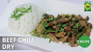 Beef Chili Dry | Lively Weekends | Masala TV Show