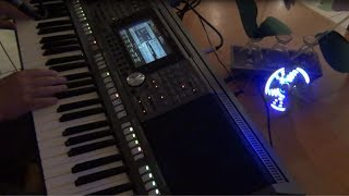 Keyboard Don't stop believing  PSR S970 Tyros vocal cover