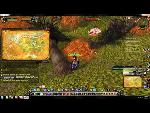 World of Warcraft rare hunter pet locations - Tirisfal Glades
