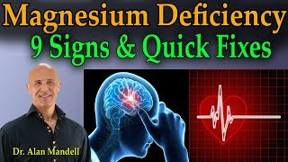 9 Signs of Magnesium Deficiency & Quick Fixes - Dr Mandell