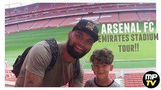 ARSENAL FC | EMIRATES STADIUM TOUR | MPTV