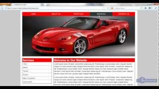 html and css in hindi / urdu Tutorial - 34 - How to design website (Part 1)