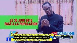 Wa basango :Kinshasa Eyindii Mwana Mobutu Alobi Le 30 Juin Ako Loba Ba Verité Cahché Ya RDC