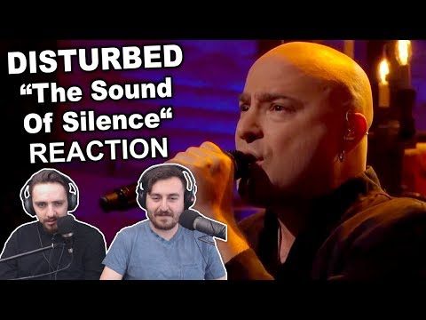 """""""Disturbed - The Sound of Silence"""" Reaction"""