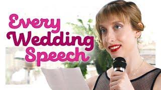 Every Wedding Speech Ever   CH Shorts