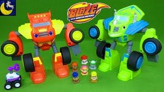 Awesome Blaze and Monster Machines Toys - Robot Riders Watts Zeg Paw Patrol Mashems Teenies