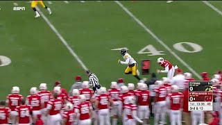 Joshua Jackson Pick Six vs. Wisconsin