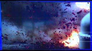 Video Amatir Kekejaman Teroris dengan Ledakan Bom Bunuh Diri di Stadion Sepakbola