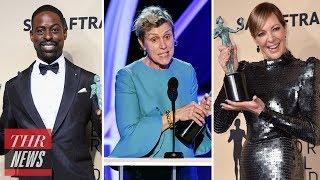 2018 SAG Awards Best Moments: Kristen Bell, Acceptance Speeches & More! | THR News
