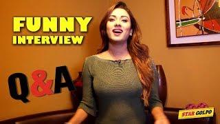 ইন্টারনেটের কিছু মজার প্রশ্নের উত্তর দিলেন নায়িকা ববি Funny Q/A with Actress Bobby Haque |Star Golpo