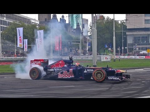 16 Year old Formula 1 driver doing EPIC BURNOUTS!!