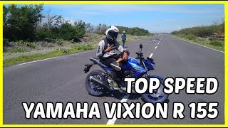 Top Speed Yamaha All New Vixion R 155 Tembus 139 KM/Jam